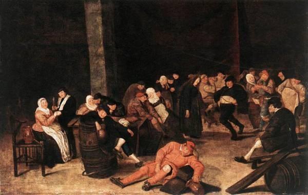 Peasants At A Wedding Feast